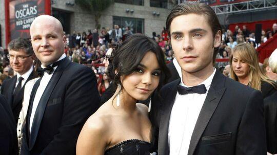 Vanessa Hudgens og Zac Efron var kærester i fem år. Her ses de til Oscar-uddelingen i 2009.