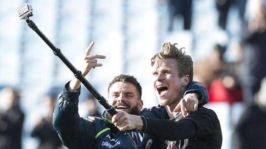 Kees Luijckx(th.) har lært imponernde hurtig dansk