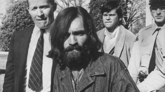 Charles Manson som han så ud ved anholdelsen i oktober 1969.
