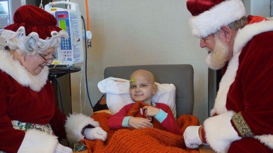 Jacob Thompson nåede at fejre tidlig jul, inden han gik bort.