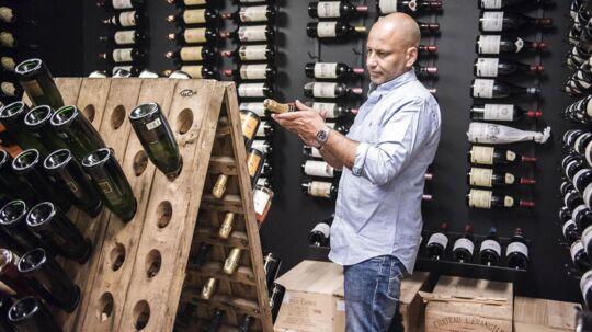 ARKIVFOTO af Thomas Clausen, der stiftede det konkursramte Fine Wine Invest.