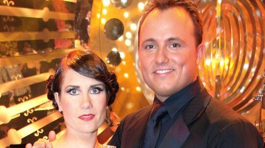 Mia Lyhne og Thomas Evers Poulsen vandt Vild med dans i den første danske udgave af programmet i foråret 2005. Scanpix/Mogens Flindt