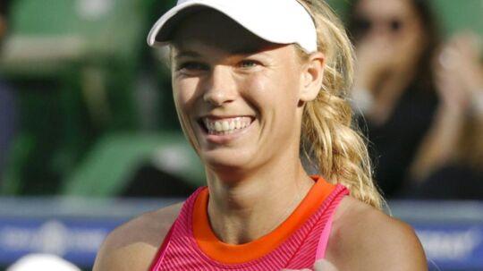 Caroline Wozniacki skal have ny træningsmakker.