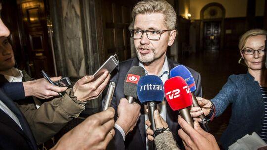 Arkiv. Københavns overborgmester Frank Jensen (S).