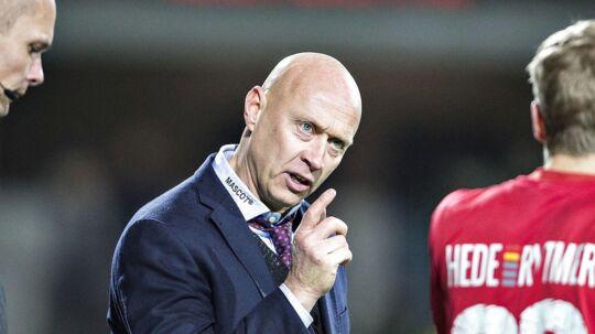 SIlkeborg-træner Peter Sørensen: »Jeg mener ikke, at det var dommerens skyld, at vi tabte, eller at dommeren holder med nogen, men der var et kæmpe frispark til Ibrahim Moro, da de scorede til 2-1. Og til sidst var der straffespark til os.«
