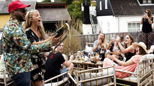 Arkivfoto: »Musik i Lejet« foregår fra 19.-21. juli. Festivalen er vokset markant i størrelse de seneste år og er populær, fordi den forener musikfestival med en afslappet strandstemning.