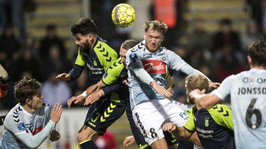 Christian Jakobsen scorede endnu engang mod sin gamle klub, Brøndby, men det var ikke nok til en sejr.