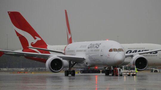 Sidste år gik det ud over et Qantas-fly på vej fra Melbourne til Perth.