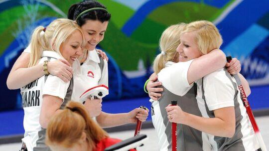 Danmarks kvindelandshold i curling er klar til vinter-OL i Sydkorea.