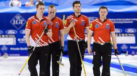 Troels Harry, Mikkel Poulsen, Rasmus Stjerne og Johnny Frederiksen har ifølge sportschef i Dansk Curling Forbund, Ulrik Schmidt, gode muligheder for opnå medaljer ved vinter-OL.