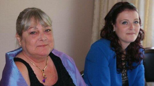Ann-Margret Woidemann og hendes 29-årige datter Line Emilie.