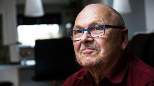Ole Rasmussen har haft inkontinens siden 2005 efter en operation for prostatakræft. Det har haft store konsekvenser for hans sociale liv.