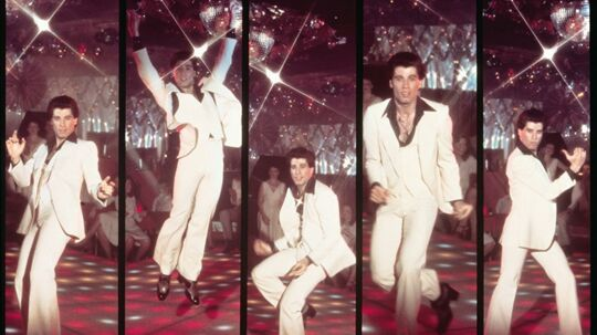 Ikoniske Travolta moves fra 'Saturday Night Fever'