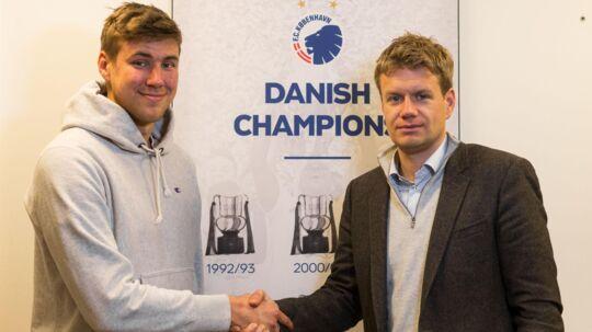 Horsens Jesse Joronen skifter til sommer til FCK på en femårig kontrakt.