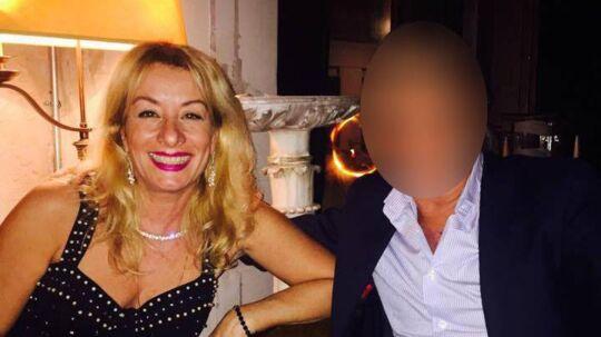 58-årige Emanuela Consortini (tv) blev fredag idømt seks års fængsel for at bestille et lejemord på sin kæreste (th).