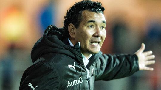 Sportsdirektør Michael Gravgaard er helt overbevist om, at Ricardo Moniz (billedet) er den rette på cheftrænerposten i Randers FC.