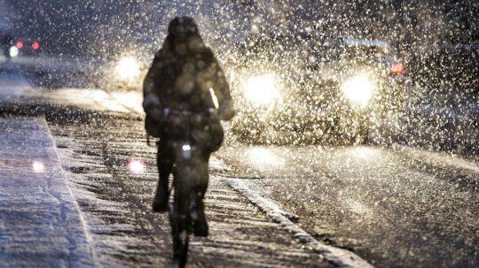 Natten til søndag får vi sne flere steder i landet.
