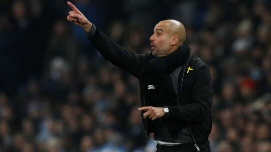 Josep Guardiola bliver ved med at imponere med sit Manchester City-hold i Premier League. Reuters/Phil Noble