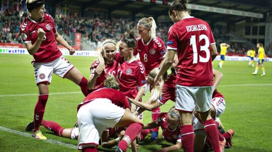 Danmark - Sverige, EM kvalifikation 2016