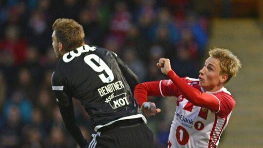 Ulrik Yttergård Jenssen meldes tæt på et skifte til Superligaen.