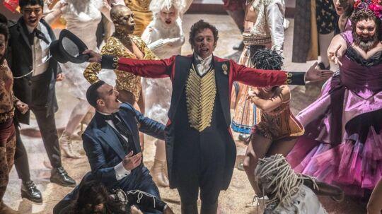 Hugh Jackman spiller rollen som Barnum i »The Greatest Showman«.