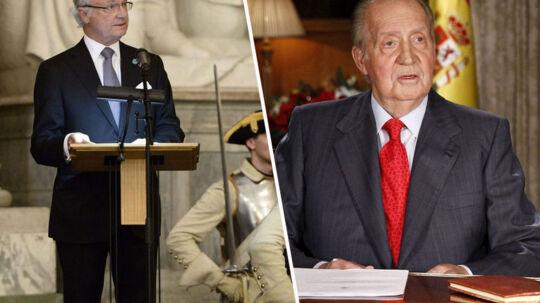 Kong Carl Gustav og kong Juan Carlos er upopulære hos deres befolkninger.