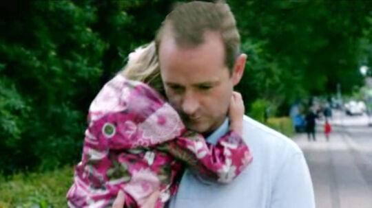 Simon og hans datter Emma.