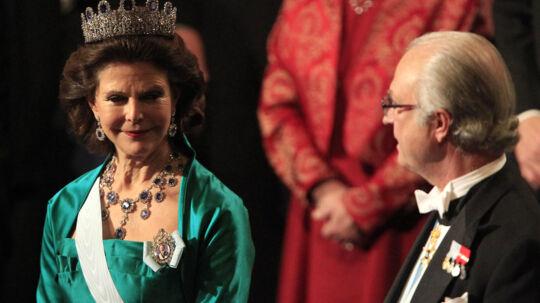 Sveriges dronning har holdt øje med sin mand, når han var til vilde fester.