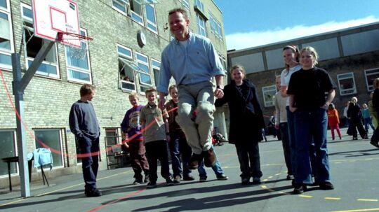 Bubber har også gået på Tranegårdskolen, og han mener, at kronprinsparret har truffet et godt valg.