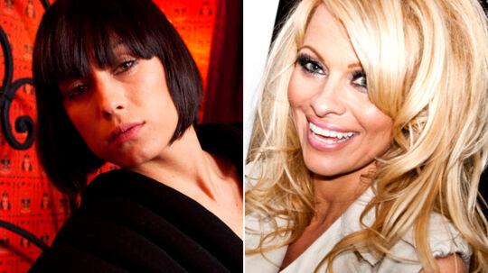Medina glæder sig til at møde Pamela Anderson i Danmark.