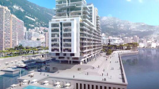 15 mia. kroner kommer udvidelsen af Monaco til at stå i.