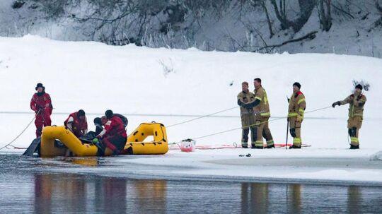 Politiet har lørdag søgt efter savnede Janne Jemtlant ved elven Glomma i Våler.