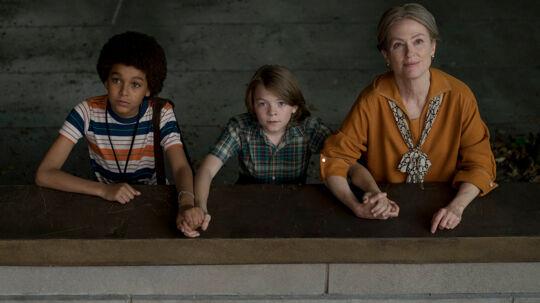 Jaden Michael, Oakes Fegley og Julianne Moore i 'Wonderstruck'. Foto: Scanbox