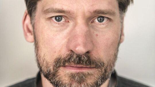 Portræt af skuespiller Nikolaj Coster Waldau som blandt andet er med i Game of Thrones