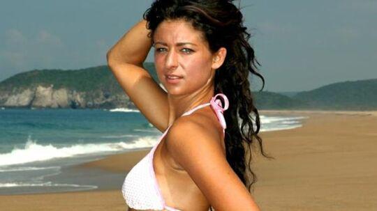 Sådan så Mette ud, da hun deltog i 'Paradise Hotel' i 2011. (Foto: TV3)