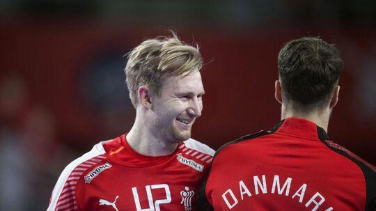 Peter Balling efter EM kampen mellem Danmark-Spanien i Arena Varazdin.