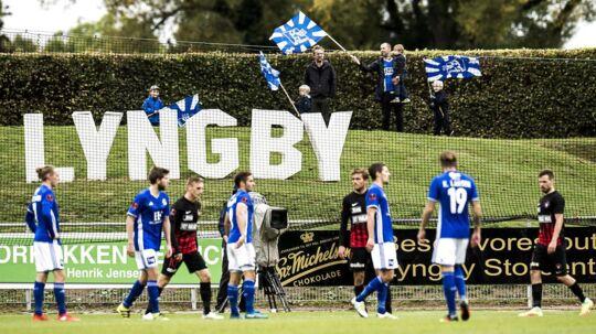 Lyngby Boldklub kan være tæt på redning.