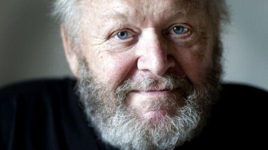 Skuespiller Jens Okking er død. Han blev 78 år. Arkivfoto fra den 9. juli 2008. (Foto: Jeppe Michael Jensen/Scanpix 2018)