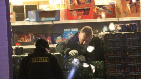 En person er blevet skudt i Taastrup søndag aften.