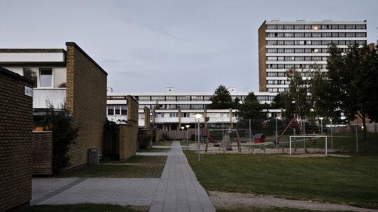 Vollsmose i Odense er blandt de boligområder, hvor andelen af ikkevestlige indvandrere og deres efterkommere er størst. Scanpix/Malte Kristiansen