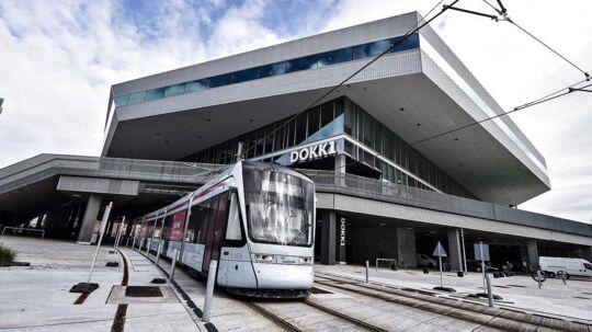 Dokk1 er en af de kendte bygninger, som Schmidt Hammer Lassen Architects har tegnet. Arkivfoto