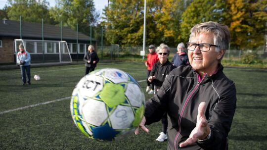 Aase Hansen og hendes fodboldhold spiller hver torsdag hele året. En enkelt friuge blev det dog til mellem jul og nytår, selvom der var nogle stykker som alligevel dukkede op for at spille.
