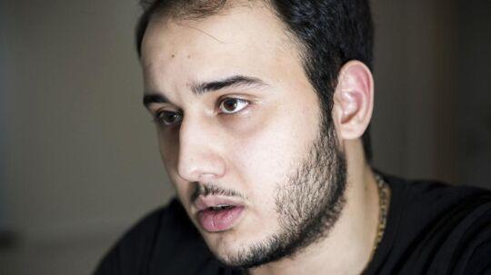Ali Parnian ejer bageriet Kaj i Tingbjerg, som blev smadret, fordi han nægter at betale beskyttelsespenge.