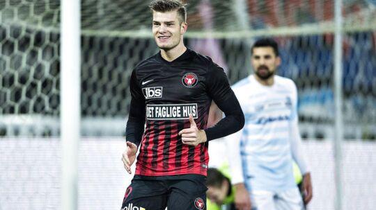 Alexander Sørloth kan meget snart være fortid i FC Midtjylland.