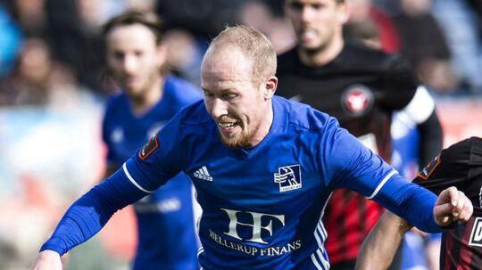 Lyngbys Mikkel Rygaard er tæt på at forlade klubben. (Foto: Ida Guldbæk Arentsen/Scanpix 2017)