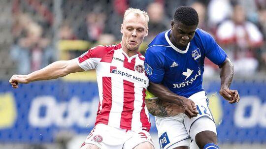 Mayron George er ejet af Randers FC, men lejet ud til Lyngby Boldklub. (foto: Henning Bagger / Scanpix 2017)