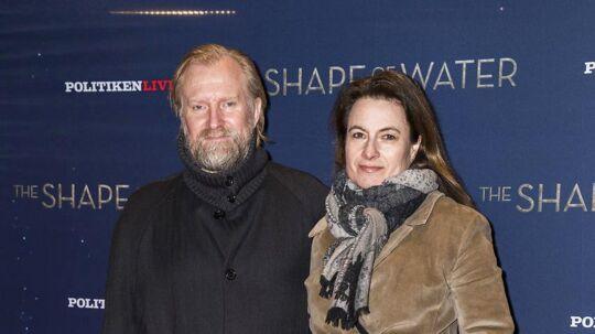 Ulrich Thomsens næste film bliver hans egen kulsorte komedie, 'Willenberger«, som han er i Danmark for at klippe færdig. Her er Thomsen med hustruen, Cathrine Ekehed, ved forpremieren på 'The Shape of Water' onsdag aften.