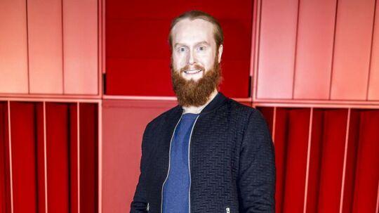 Jonas Flodager Rasmussen skal synge sangen 'Higher Ground' til dette års Melodi Grand Prix