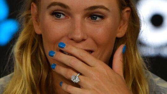 Caroline Wozniacki er vild med vinter-OL