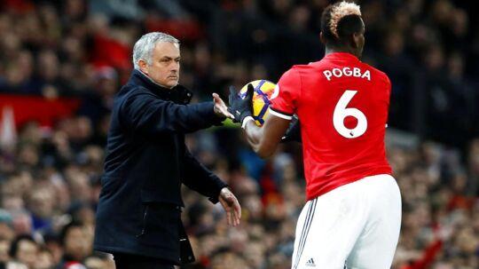 Jose Mourinho mener ikke, der er problemer med Paul Pogba.